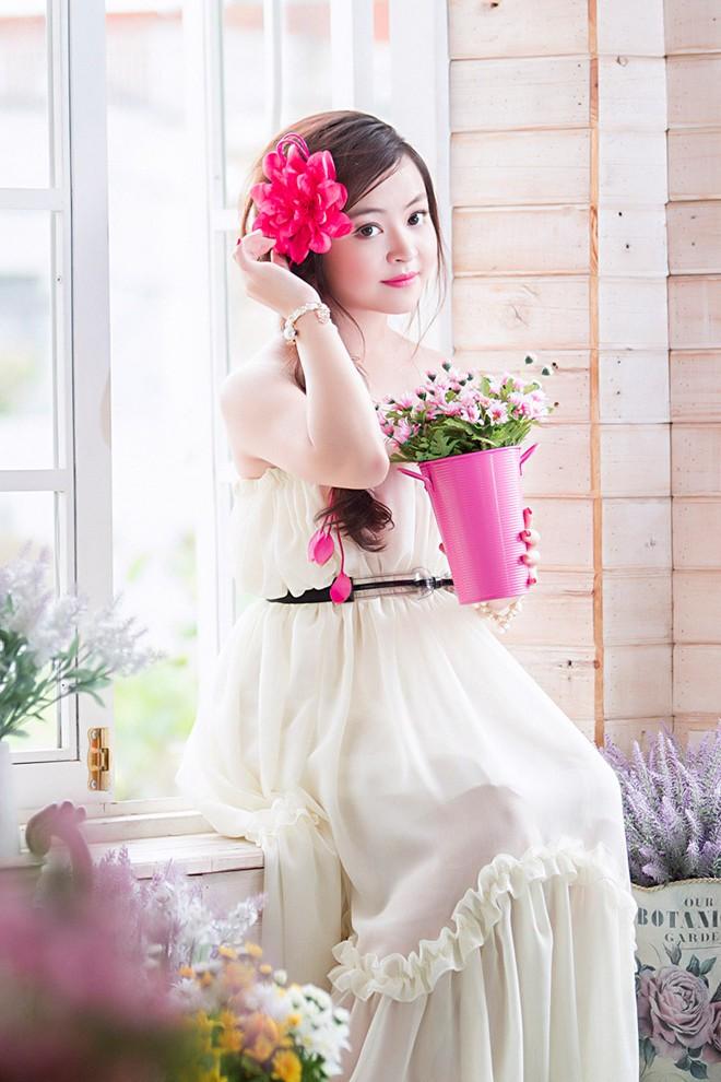 Váy maxi sắc màu lãng mạn cho bạn gái mùa thu 7