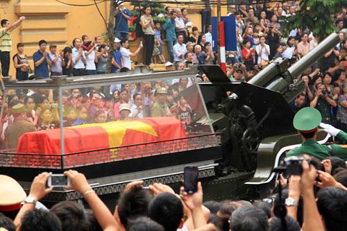 Lễ tang Đại tướng trên báo nước ngoài 1