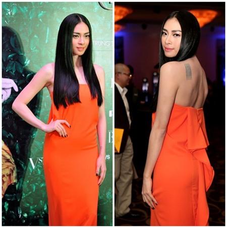 Sao Việt quyến rũ với váy suông 12