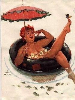"""Cư dân mạng thích thú với bộ tranh vẽ nàng béo """"sexy"""" Hilda 3"""