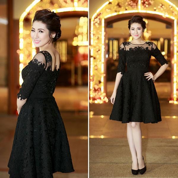 Kiều nữ Việt xinh lung linh với dáng váy xoè 5