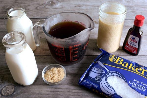 Tự làm kem cà phê dừa nạo mát lịm người 1