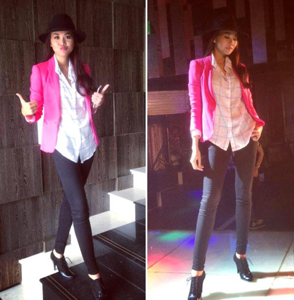 Thanh Hằng mặc jeans sành điệu 5