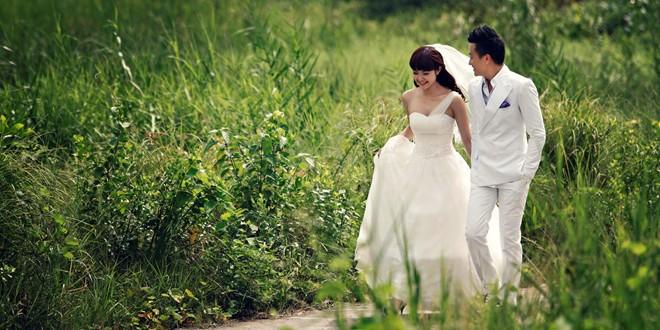 Ảnh cưới đẹp lung linh của Minh Hằng - Lương Mạnh Hải 2