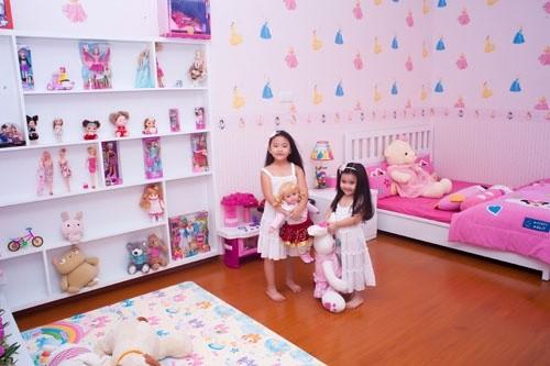 Khám phá phòng riêng của 'công chúa - hoàng tử' nhà sao Việt 17