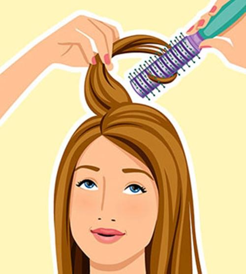 """5 phút """"làm mới"""" tóc bết mồ hôi dầu cho quý cô bận rộn 5"""