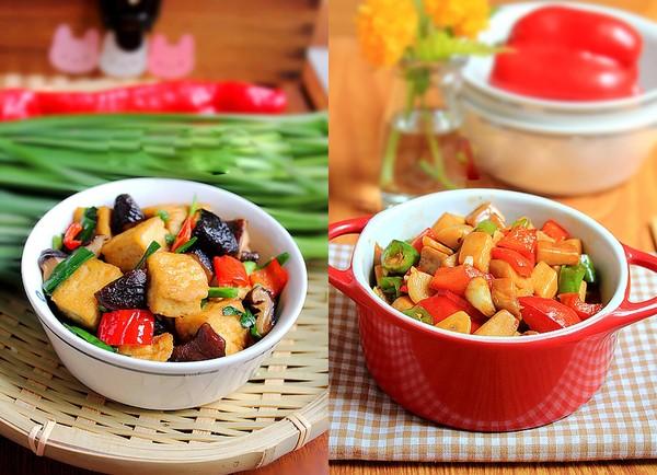 2 món xào ngon đầy màu sắc cho bữa chiều 1