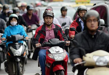 Người Hà Nội ngày đầu mặc áo rét 9