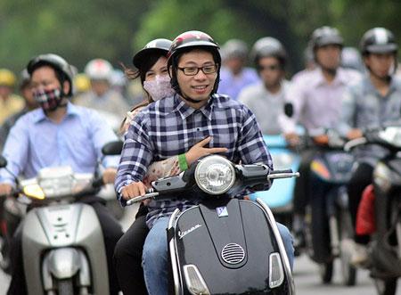 Người Hà Nội ngày đầu mặc áo rét 12
