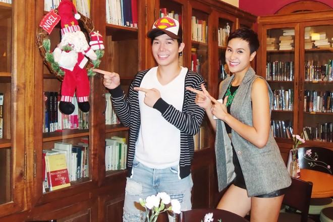 Nathan Lee và Phương Mai công khai yêu nhau trên truyền hình 2