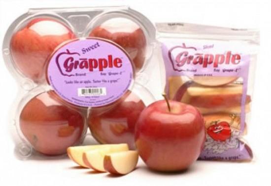 Kỳ lạ quả táo có hương vị nho 2