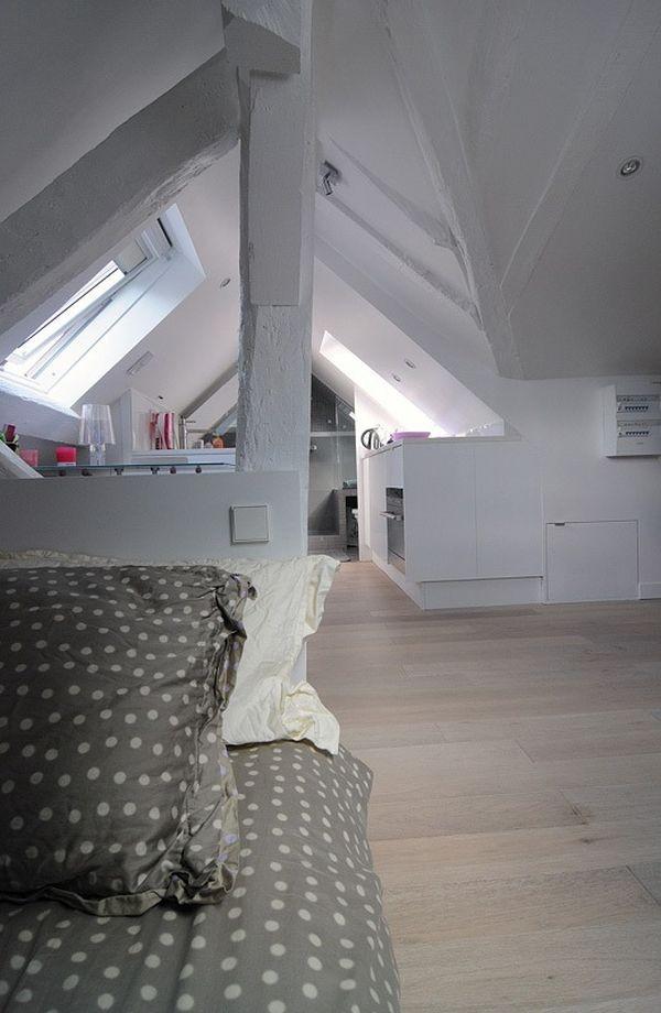 Ngắm căn hộ áp mái 16m² với cách bài trí siêu thông minh 8