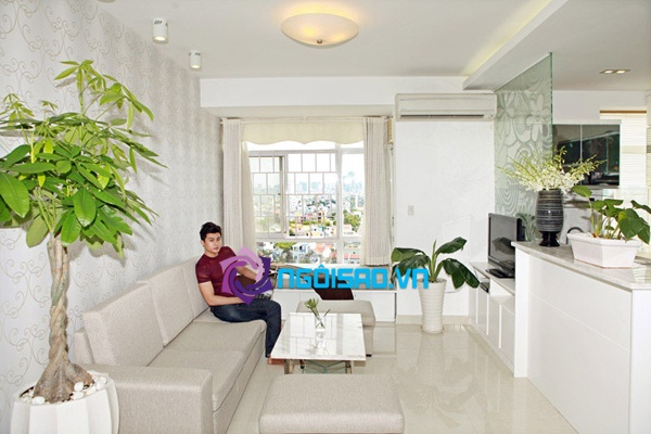 Ngắm căn hộ tầng 12 của siêu mẫu Lương Công Tuấn 2