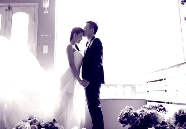 Chiêm ngưỡng ảnh cưới đẹp long lanh của Hoa hậu Biển Vân Anh 6