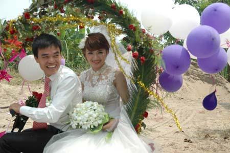 Hà Nội: Thú vị đám rước dâu bằng... xe đạp 8