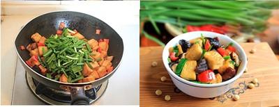 2 món xào ngon đầy màu sắc cho bữa chiều 4