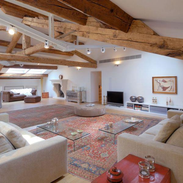 15 phong cách nội thất cho phòng khách rộng 3