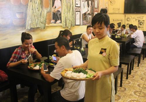 Bún đậu mắm tôm nở rộ tại Sài Gòn 1