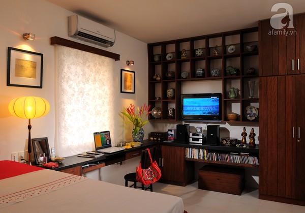 Ngắm căn hộ 22m² sử dụng đồ gỗ tái chế cực chất tại Phú Nhuận 1