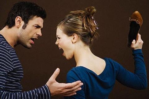 Vợ văng tục, chửi chồng là thằng điên 1