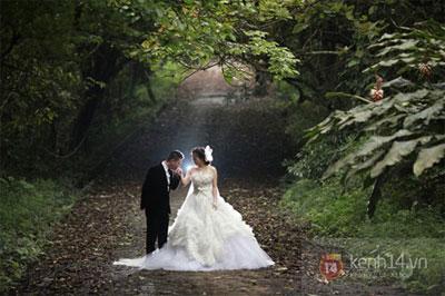 Mỹ Dung khoe ảnh cưới đẹp lung linh 6