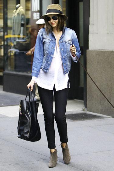 Học cách mặc quần jean nữ đẹp như sao Hollywood 13