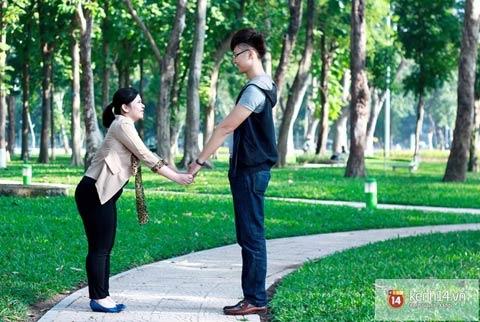 Chuyện tình đặc biệt của chàng 1m88 và nàng 1m52 tại Hà Nội 7