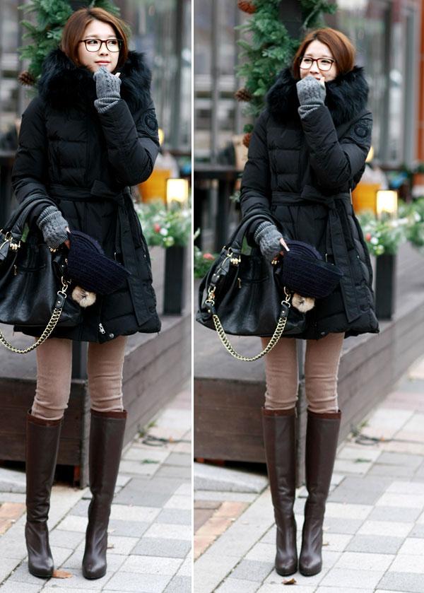 Áo cổ lông - món đồ không thể chối từ ngày đông 6