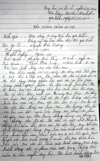 Không đọc thuộc bảng nhân, học sinh bị thầy giáo đánh nhập viện 2