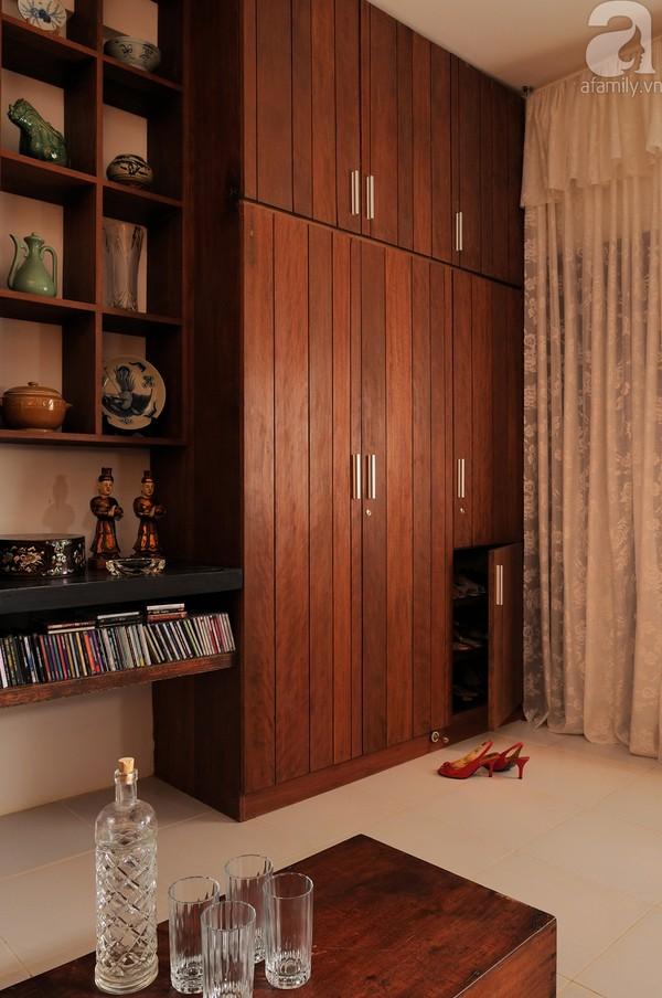 Ngắm căn hộ 22m² sử dụng đồ gỗ tái chế cực chất tại Phú Nhuận 4