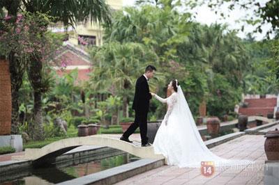 Mỹ Dung khoe ảnh cưới đẹp lung linh 4