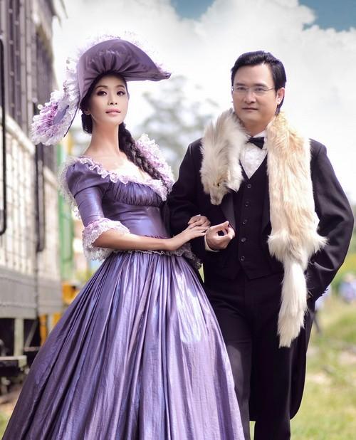 Ảnh cưới tuyệt đẹp theo phong cách cổ điển của Lê Kiều Như 4