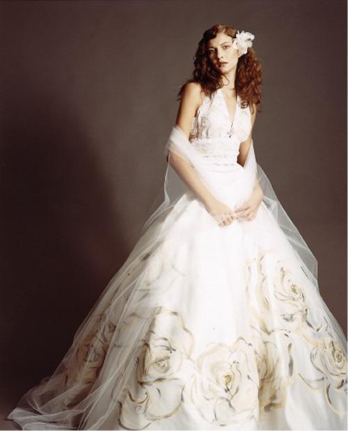 """10 váy cưới vintage """"trong mơ"""" cho cô dâu mùa thu 3"""