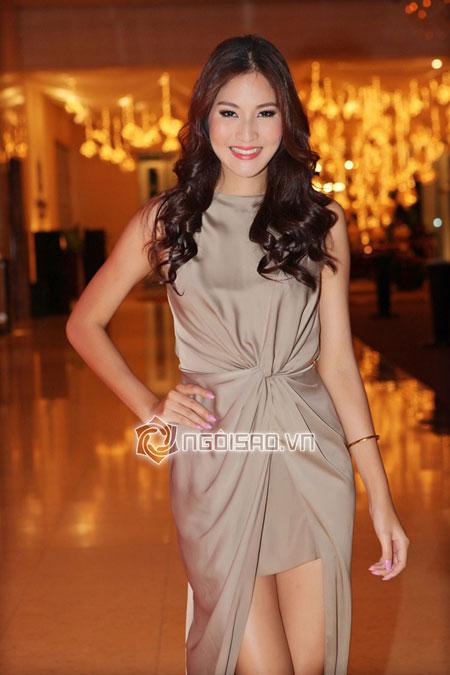 Ngọc Trinh hàng hiệu dát đầy mình vẫn lép vế trước hoa hậu hoàn vũ Thái Lan 11