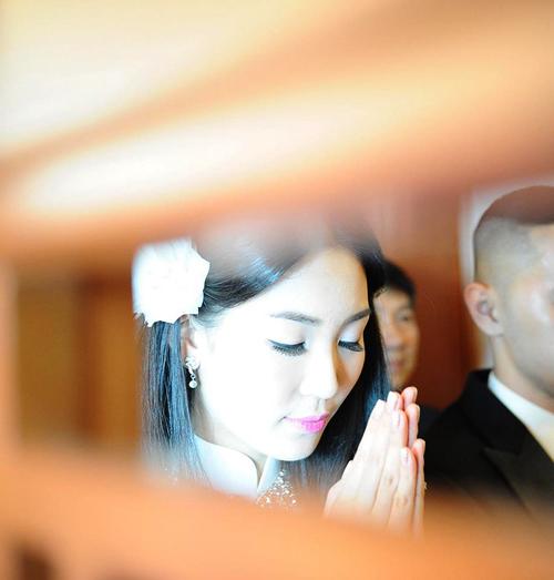 Hé lộ ảnh cưới tuyệt đẹp của Á hậu Thùy Trang 8