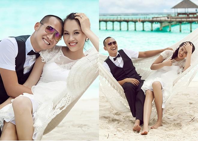 Những mỹ nhân Việt lấy chồng vừa giàu vừa điển trai 2