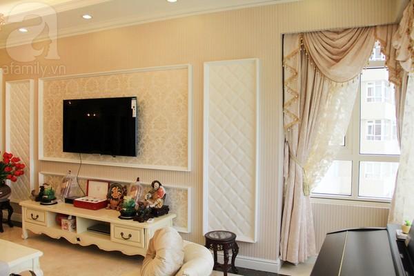 Mê mẩn căn hộ mang phong cách hoàng gia ở Sài Gòn 3