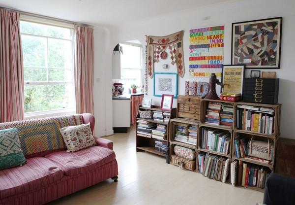 Ngắm căn hộ vintage đẹp như mơ nhờ tận dụng đồ cũ 6