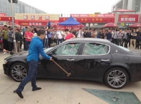 Đại gia thuê người phá siêu xe hơn 8 tỷ đồng 1