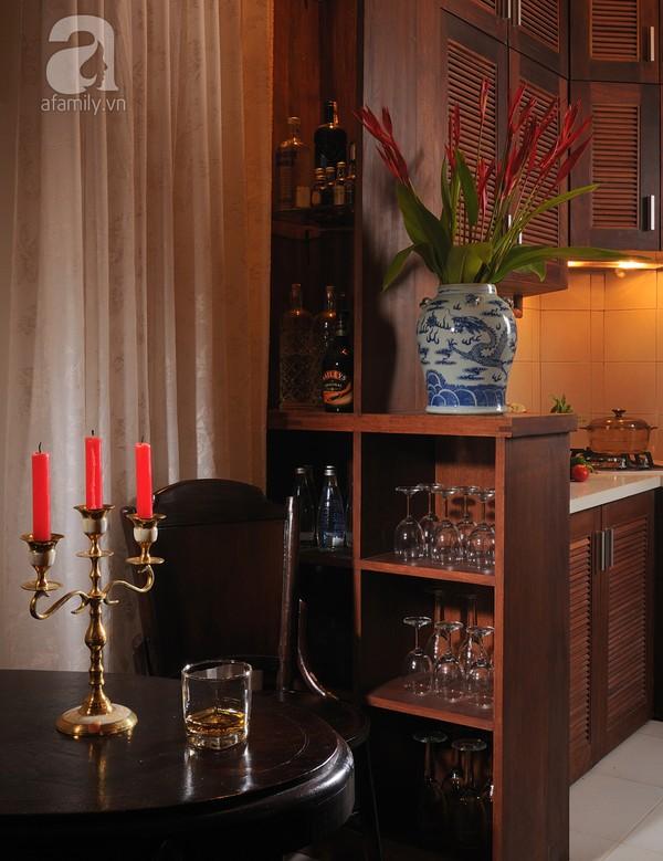 Ngắm căn hộ 22m² sử dụng đồ gỗ tái chế cực chất tại Phú Nhuận 12