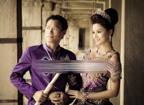 Ảnh cưới độc đáo của các cặp vợ chồng sao Việt 13