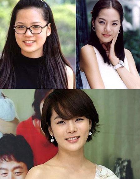 Khuôn mặt mỹ nhân Hàn biến đổi so với thời thiếu nữ 3