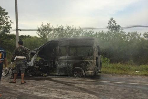 Tai nạn ô tô ở Thái Lan, 12 người Việt thiệt mạng 2