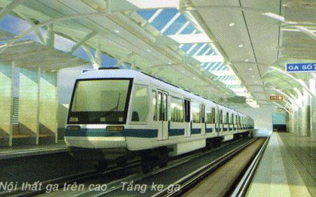 Xây tuyến tàu điện ngầm Trần Hưng Đạo - Thượng Đình 1