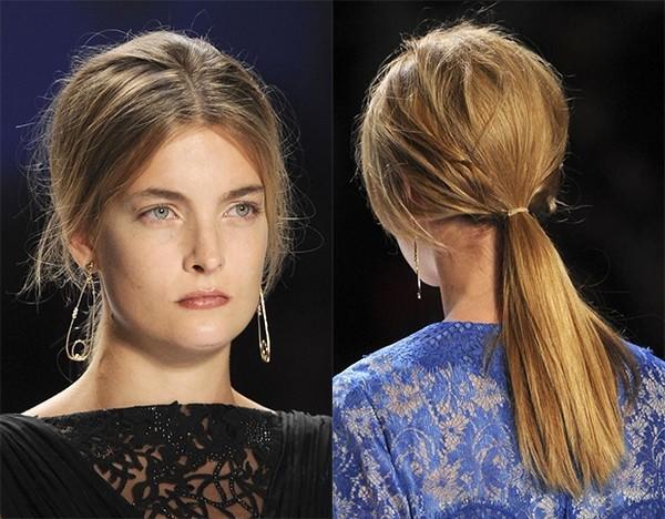 7 kiểu tóc búi, cột quyến rũ cho mùa Hè 2013 20