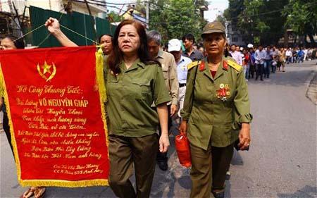 Báo chí quốc tế bồi hồi trước lễ tang Đại tướng Võ Nguyên Giáp 2