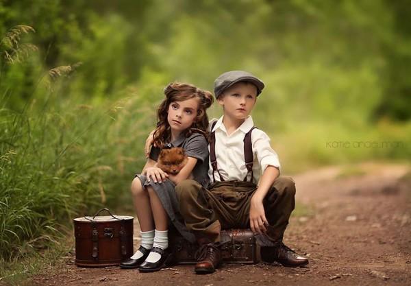 Ngẩn ngơ với chùm ảnh tuyệt đẹp về thế giới cổ tích của trẻ thơ 10