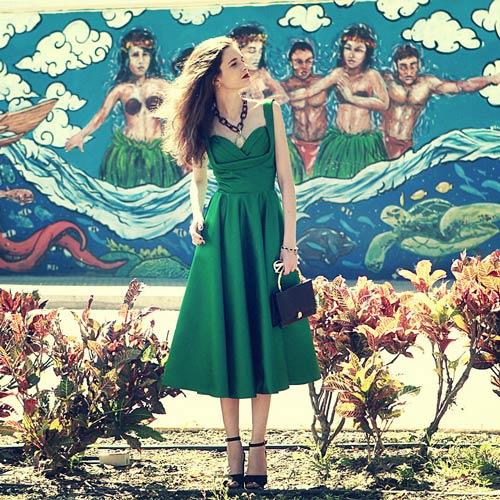 Những mẫu váy xòe đang 'tung hoành' làng thời trang 8