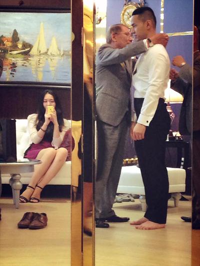 Hé lộ ảnh cưới tuyệt đẹp của Á hậu Thùy Trang 10