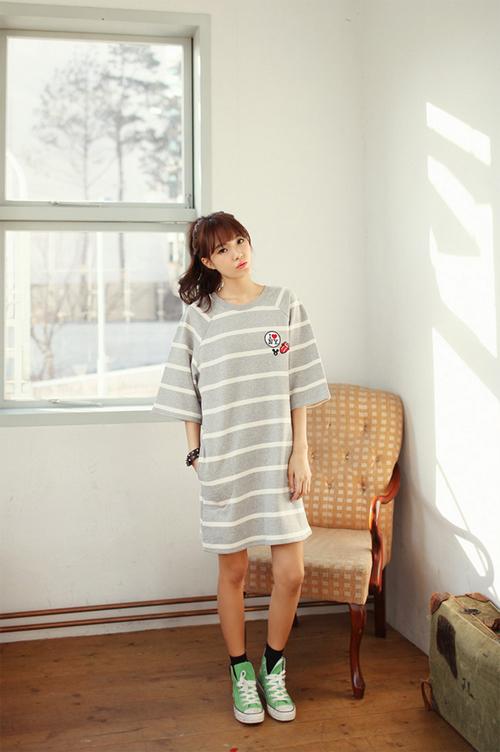 Nữ tính và thoải mái cùng những chiếc váy cotton 1